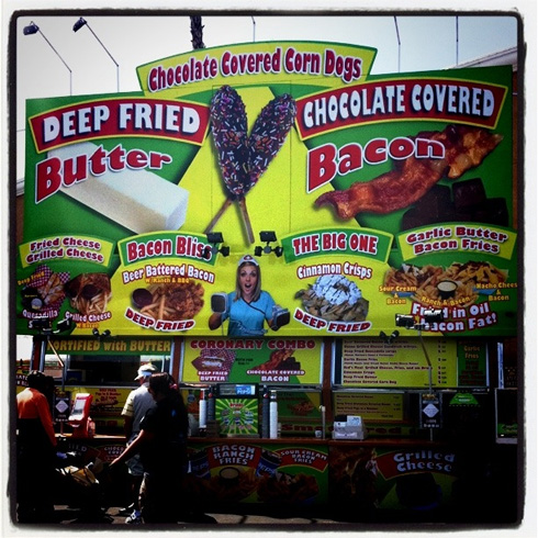 Post image for Grilled Fruit Skewers…and Outrageous Fair Foods