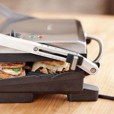Breville's adjustable height feature puts you in control (Photo: Williams-Sonoma)