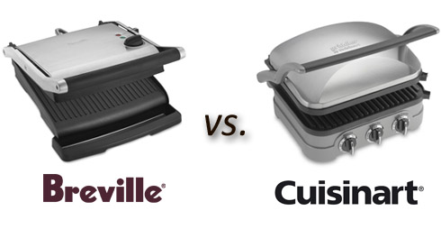 Post image for Which Panini Press Should I Buy? Breville vs. Cuisinart