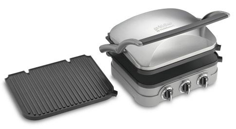 Cuisinart's main advantage: removable plates are easier to clean (Photo: Williams-Sonoma)