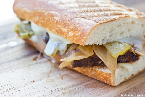 Post image for Green Chile Steak Melt Panini
