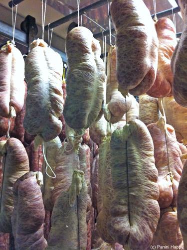 Salame in natural casings