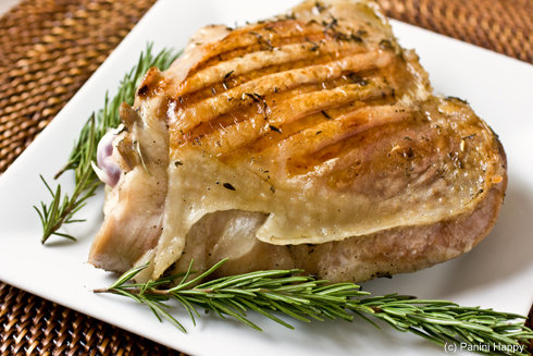 Brined Turkey Thighs