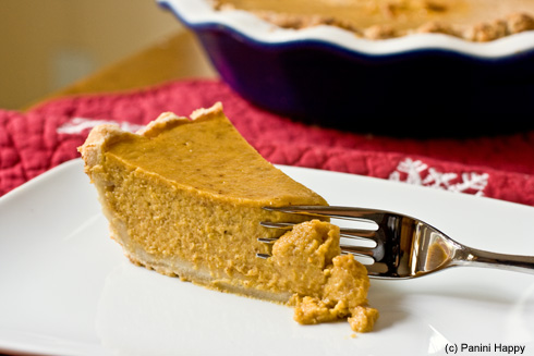Post image for A Panini Press Thanksgiving…Grilled Pumpkin Pie