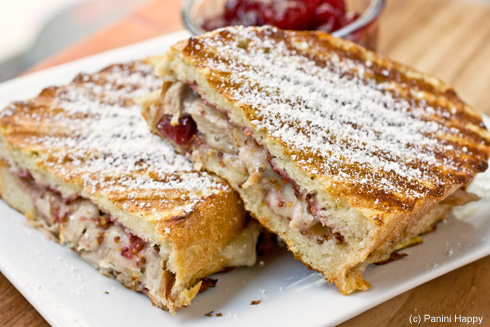 Post image for Turkey Monte Cristo Panini