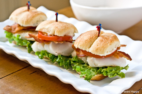 Grilled Cod Sliders on Parker House Rolls