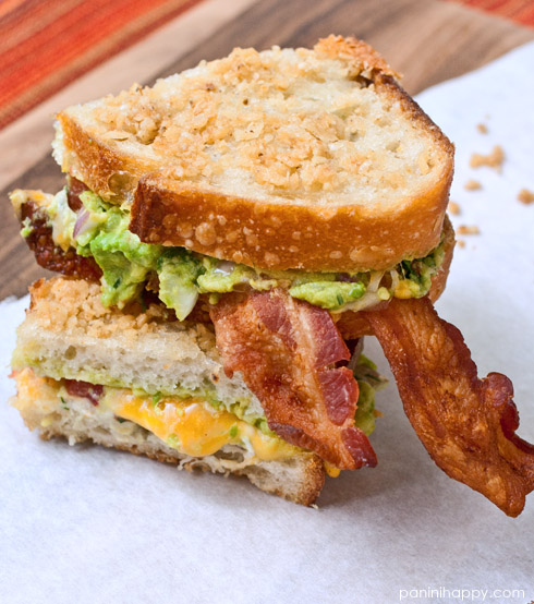 Post image for Chips and Guacamole Grilled Cheese + Q & A with Laura Werlin