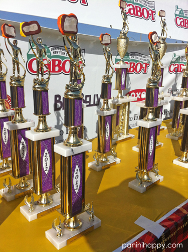And, of course, there were lots of cheese-topped trophies handed out at the end of the day.