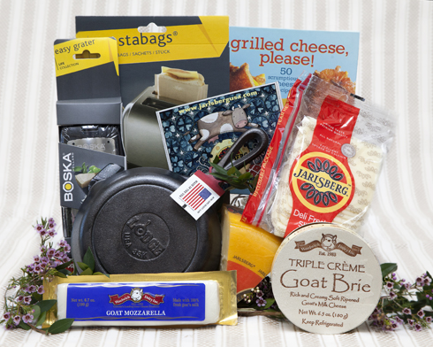 Win a Grilled Cheese Kit, sponsored by Jarlsberg