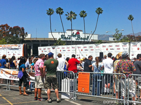 The event has grown so huge, it moved to the Rose Bowl this year.
