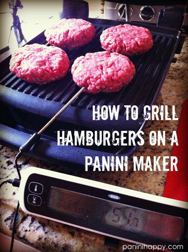 Post image for How to Grill Hamburgers on a Panini Maker