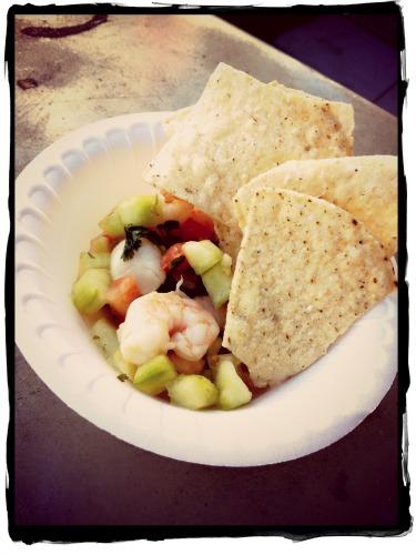 """Grilled Scallop """"Ceviche"""" Recipes — Dishmaps"""