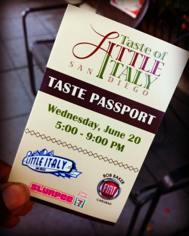 Taste of Little Italy - Taste Passport