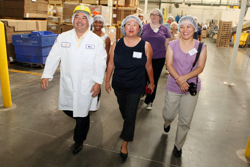 Walking the King's Hawaiian Bakery floor with CEO Mark Taira