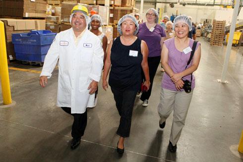 Walking the King's Hawaiian Bakery floor with CEO Mark Taira