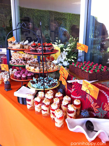 The incredible dessert table