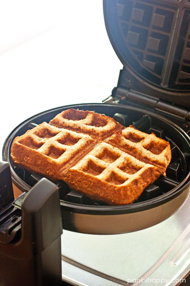 "PBRB ""Waffle"" Sammies...recipe from the Weelicious Cookbook"