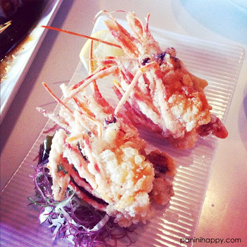 Fried Shrimp Heads at Katsuya San Diego
