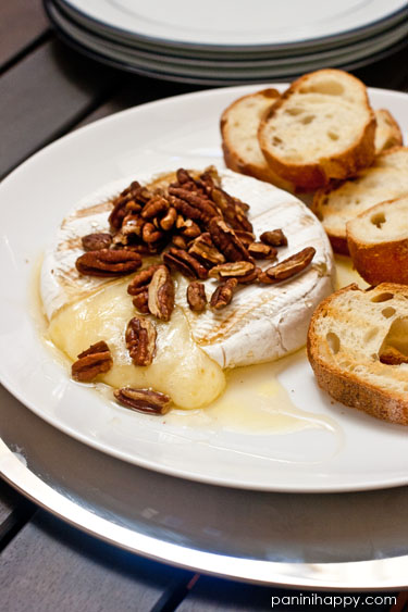 Post image for Quick Tip: Grilled Brie with Honey and Toasted Pecans