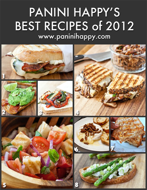 Post image for My Best Panini Press Recipes of 2012