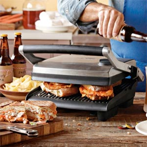 Post image for TODAY ONLY: Breville Panini Press is Gift of the Day at Williams-Sonoma