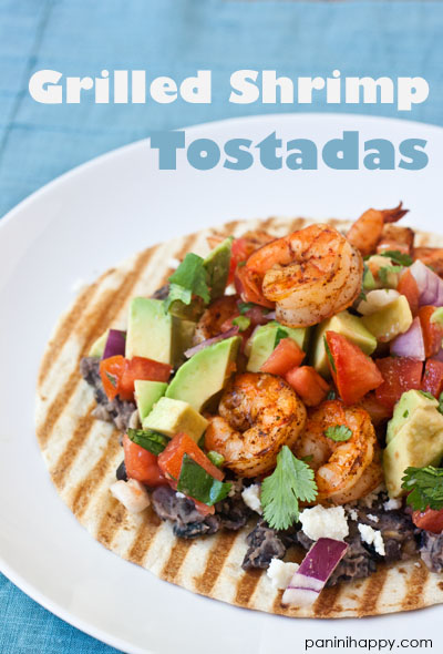 Post image for Grilled Shrimp Tostadas