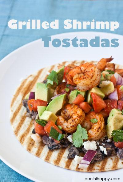 Post image for Grilled Shrimp Tostadas