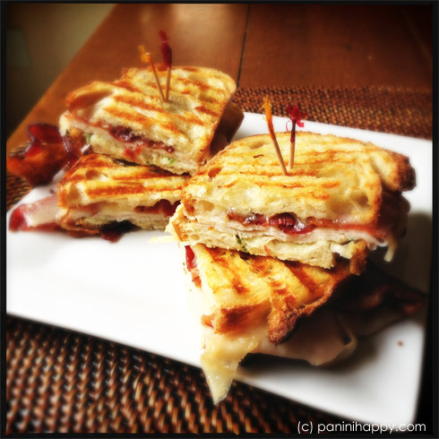 Post image for Big Game Week: Turkey, Bacon and Swiss Panini