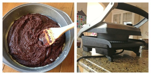 Panini Press Brownies (c) Kathy Strahs