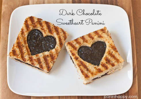 Post image for Dark Chocolate Sweetheart Panini…plus a Sweet Giveaway!
