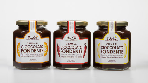 WIN a set of Nudo Italia Dark Chocolate Spreads!