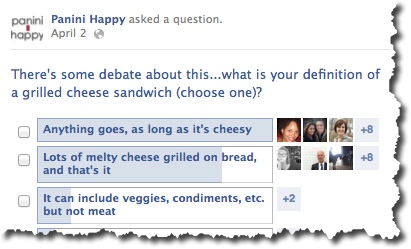 What's Your Definition of Grilled Cheese?