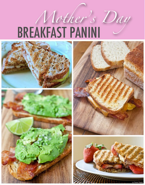 breakfast panini for mother 39 s day panini happy. Black Bedroom Furniture Sets. Home Design Ideas