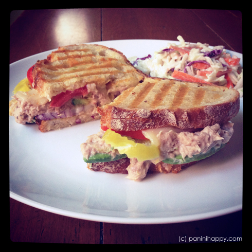 Spicy Tuna Melt Panini ...from paninihappy.com