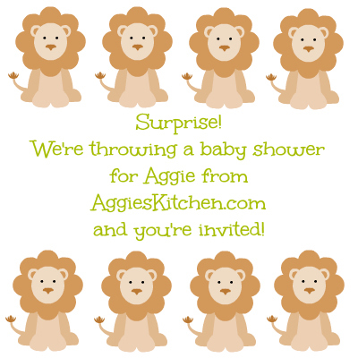 Aggie's Virtual Baby Shower!
