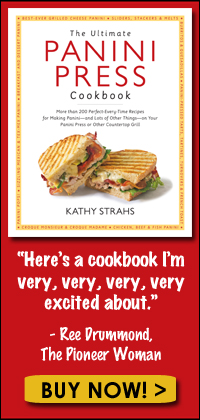Buy The Ultimate Panini Press Cookbook Now on Amazon!