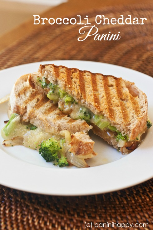 Post image for Broccoli Cheddar Panini …plus Win SIGNED Pioneer Woman Holiday Cookbooks!