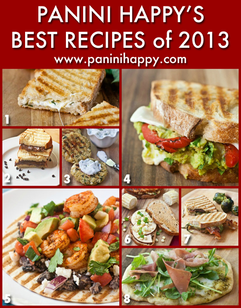 Post image for My Best Panini Press Recipes of 2013