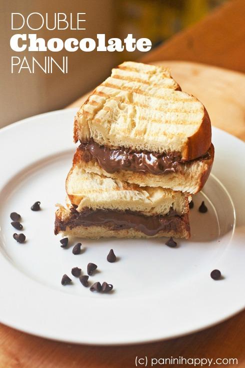 Post image for Double Chocolate Panini