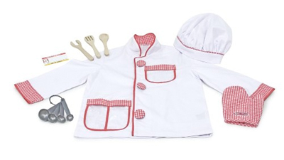 Melissa and Doug Chef Role Play Costume -- perfect for little cooks!