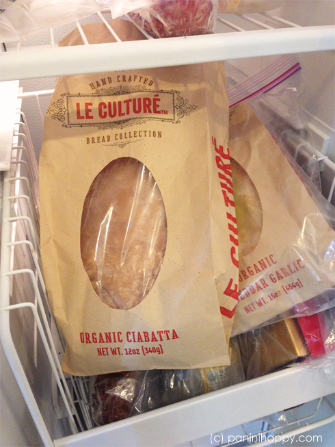 Keep bread on hand in the freezer