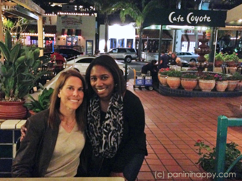 My friend Angie joined me for margaritas and Mexican food at Cafe Coyote in San Diego's Old Town