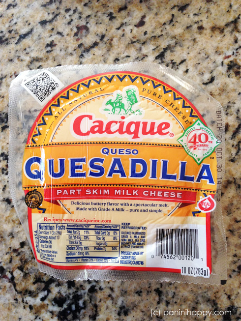 Queso Quesadilla -- just the right combination of buttery and stretchy