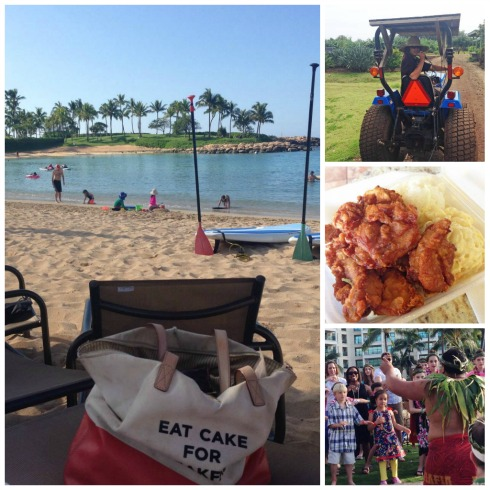 Fun in Hawaii for us means relaxing, exploring and eating!