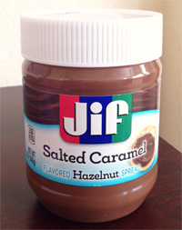 Jif Salted Caramel Flavored Hazelnut Spread