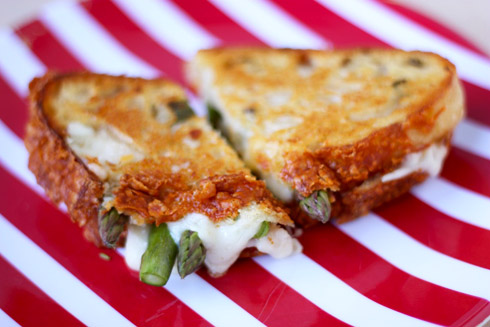 Post image for Pickled Asparagus Grilled Cheese