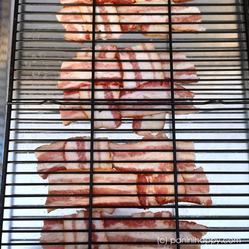 Bacon lattice under rack