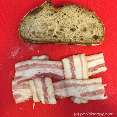 Making bacon lattice