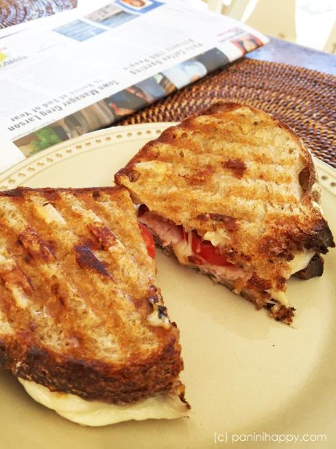 Turkey, Bacon Lattice and Havarti Panini