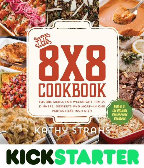 Back The 8x8 Cookbook on Kickstarter!